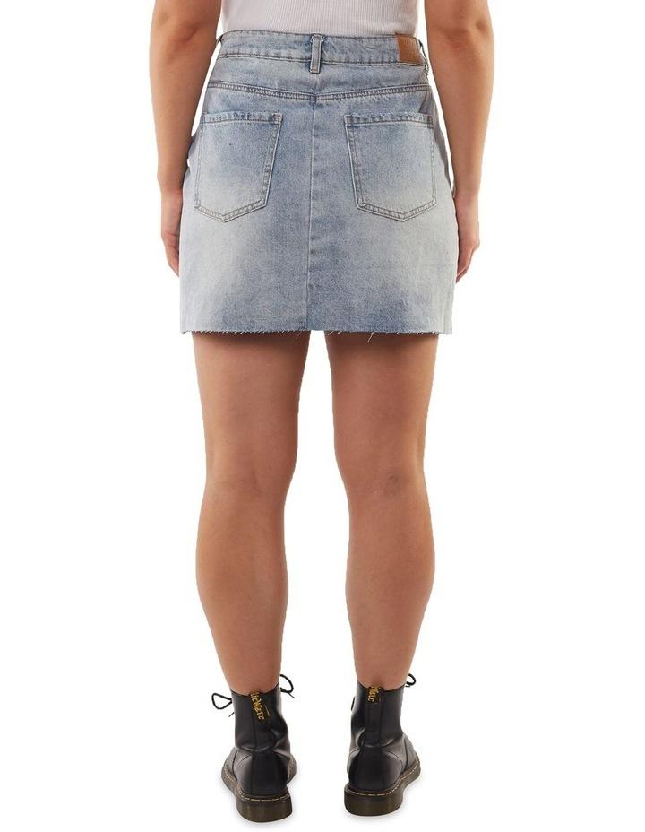 Shea Split Denim Skirt image 2