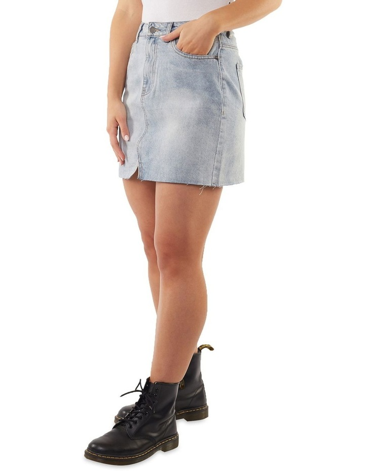 Shea Split Denim Skirt image 3