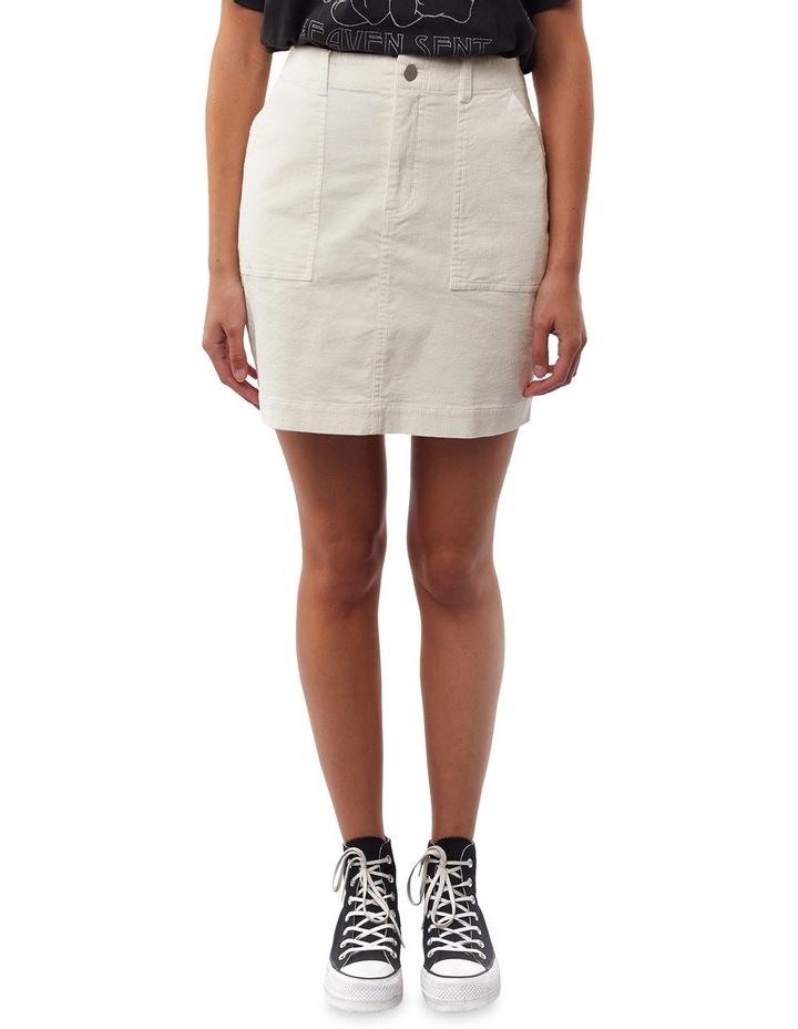 70's Cord Mini Skirt image 1