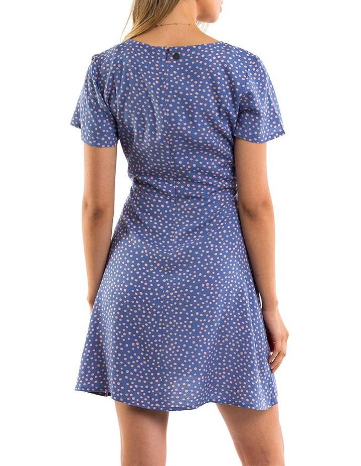Painted Dot Fit & Flare Dress image 2