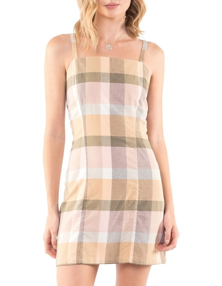 Rainbow Check Dress image 1