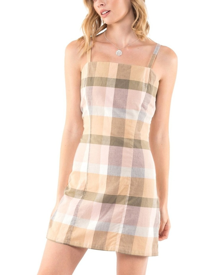 Rainbow Check Dress image 3