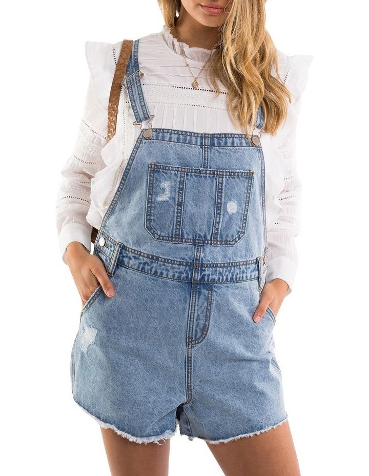 Ella Denim Overall - Short Leg image 1