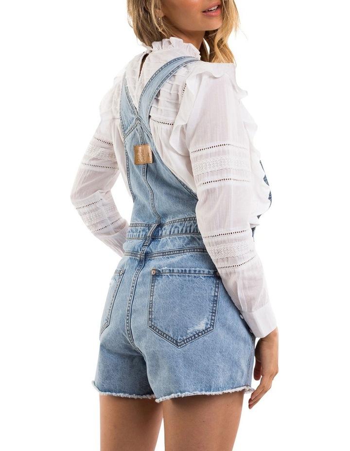 Ella Denim Overall - Short Leg image 3