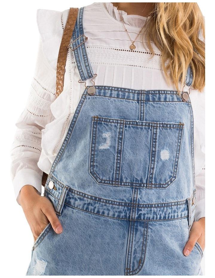 Ella Denim Overall - Short Leg image 4