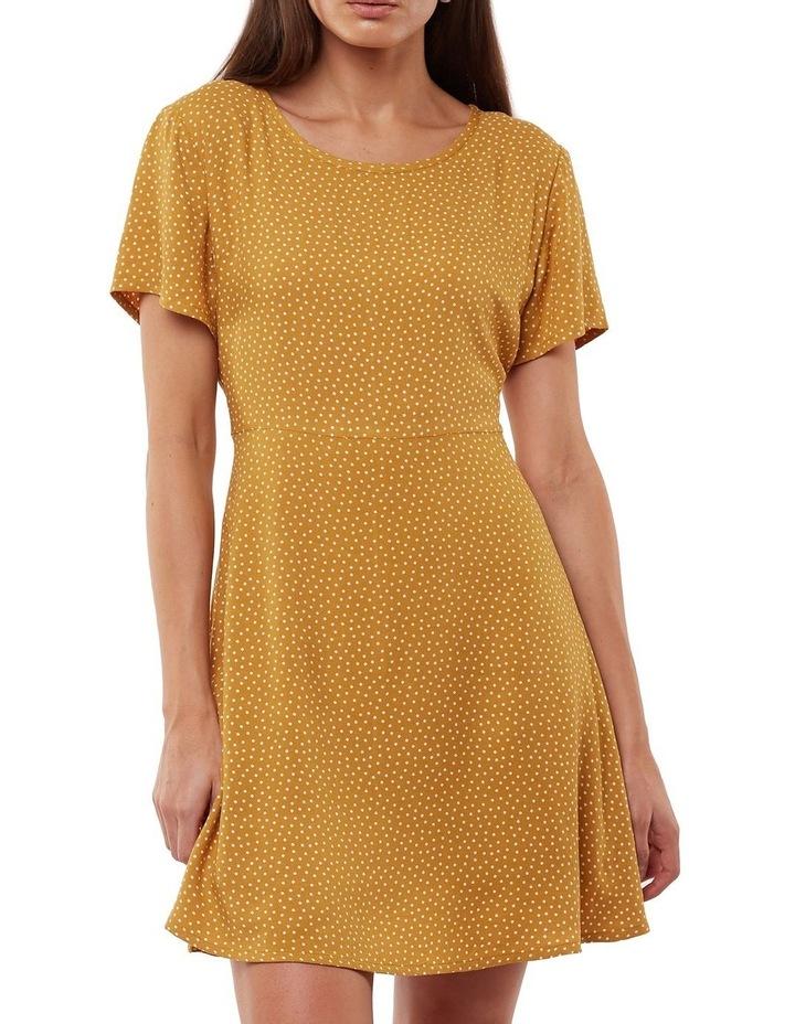 Spot me fit & flare dress image 1