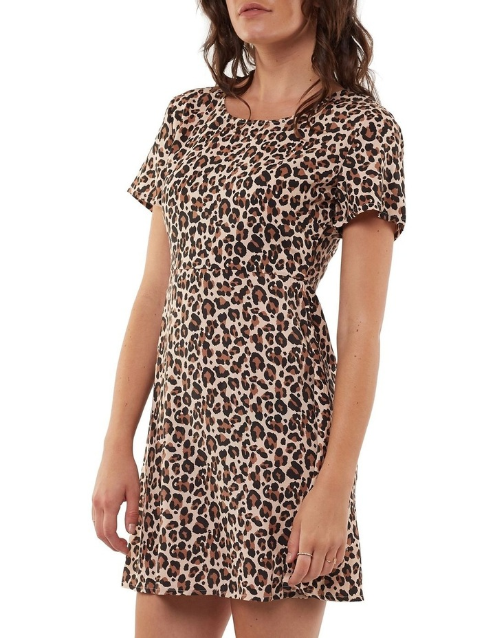 Leopard Fit & Flare Dress image 3