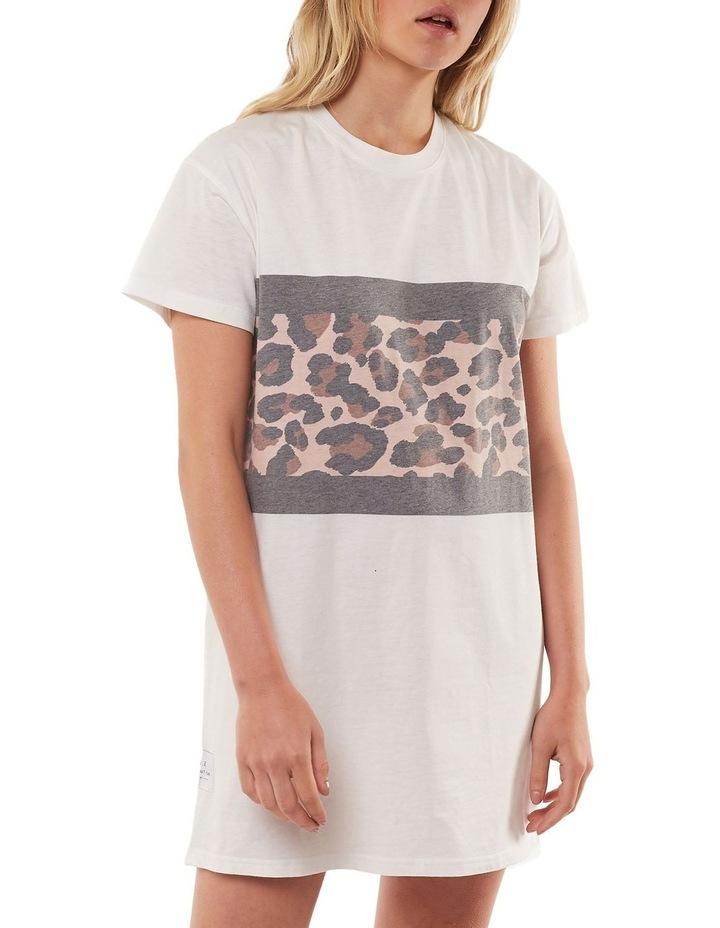 Leopard Panel Dress image 1