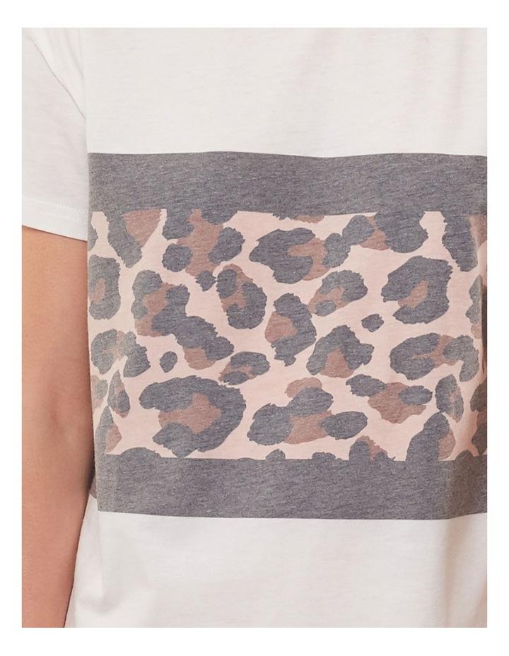 Leopard Panel Dress image 4
