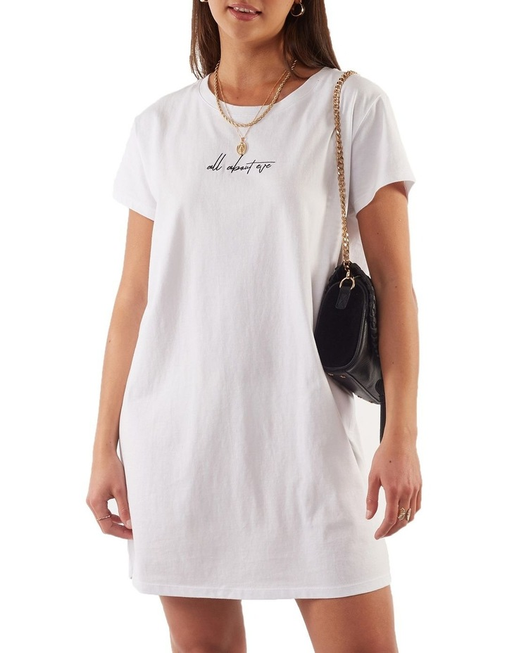 Eve Relaxed Tee Dress image 1