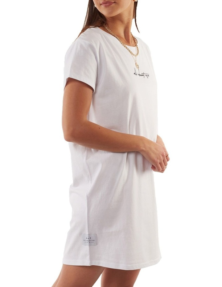 Eve Relaxed Tee Dress image 3