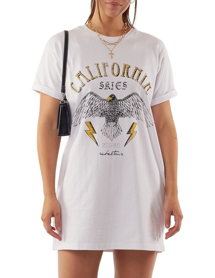 California Tee Dress image 1