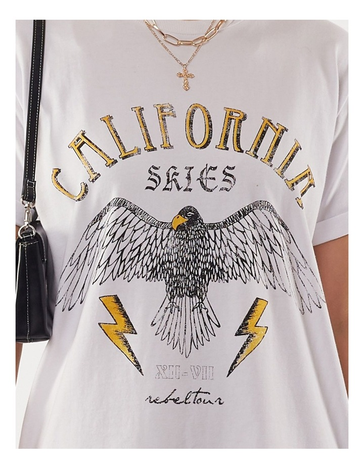 California Tee Dress image 4