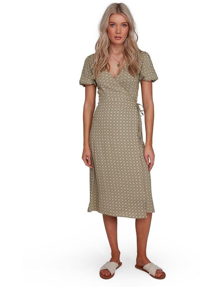 Jasmin Midi Wrap Dress image 1