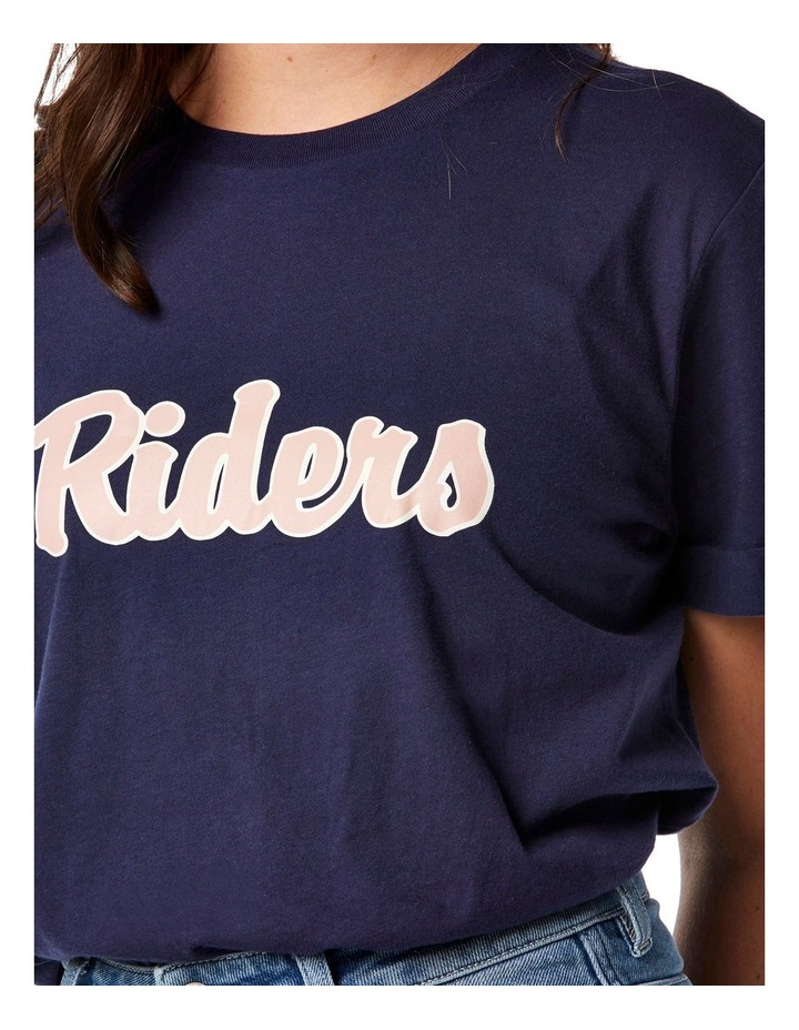 Relaxed Tee Vintage Navy image 3