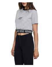 Nana Judy - Sunset Crop Tee