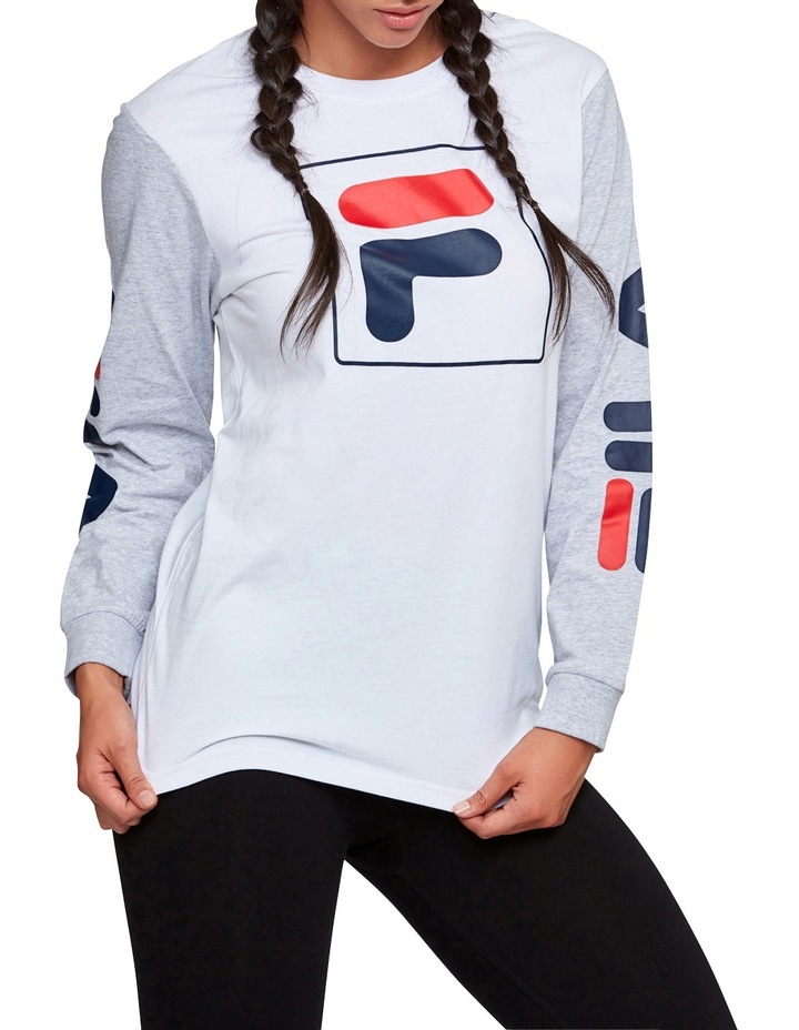 Unisex Box Long Sleeve Tee image 1