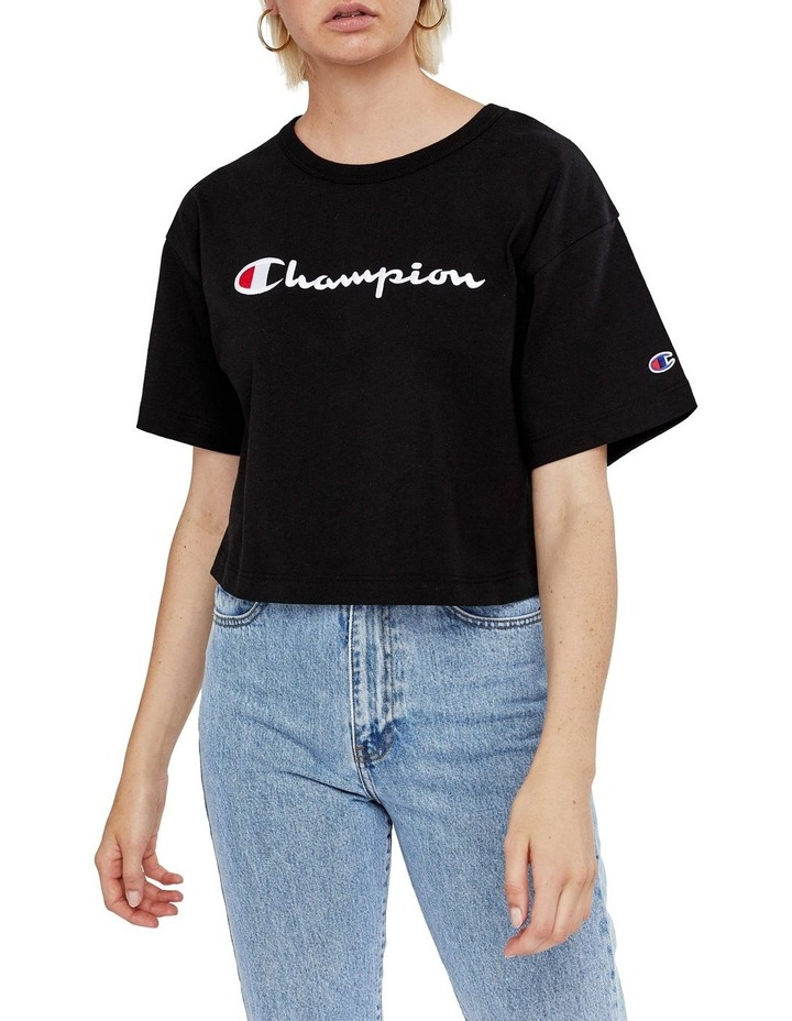 Cropped Blank Tee image 2