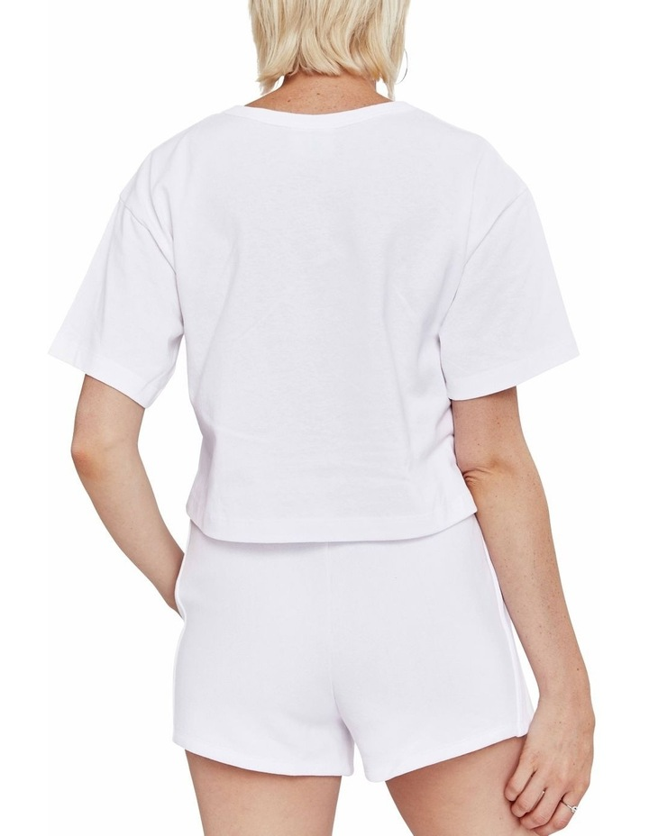 Cropped Script Tee image 3