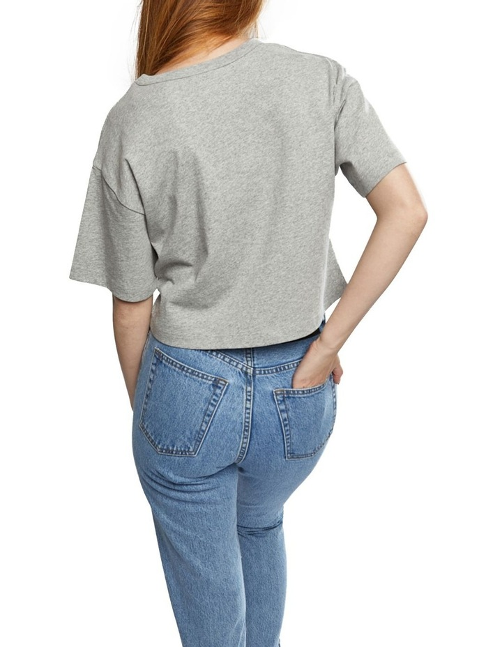 Cropped Script Tee image 4