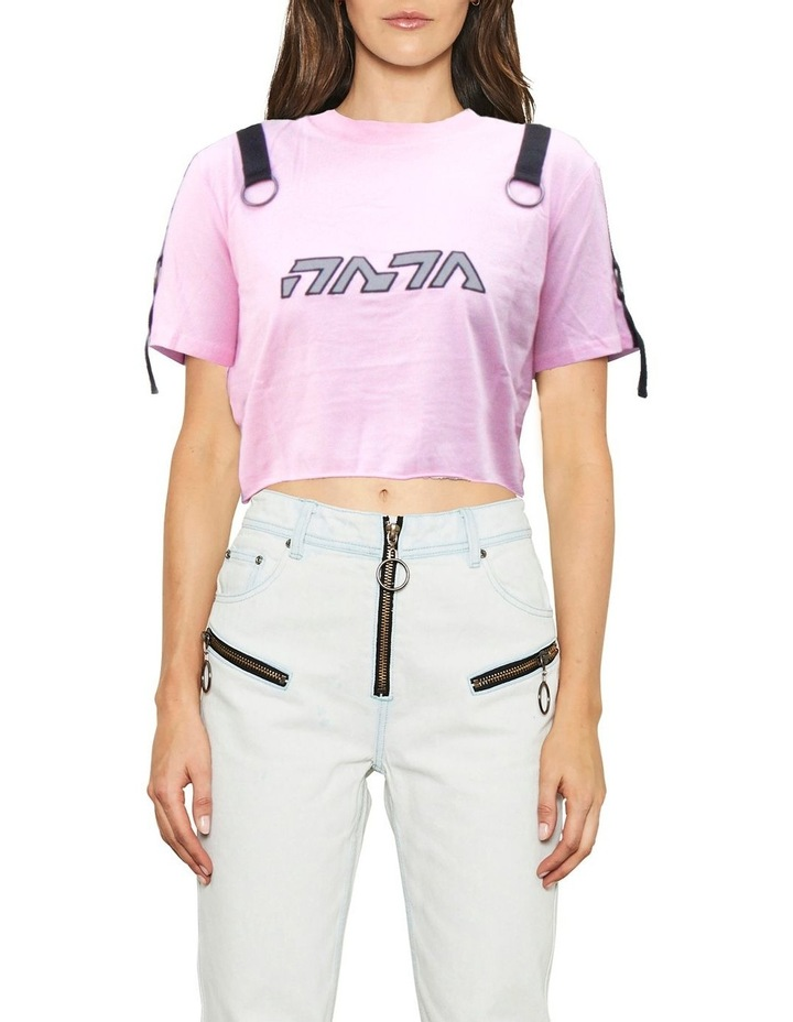 GALLERY CROP TEE image 1