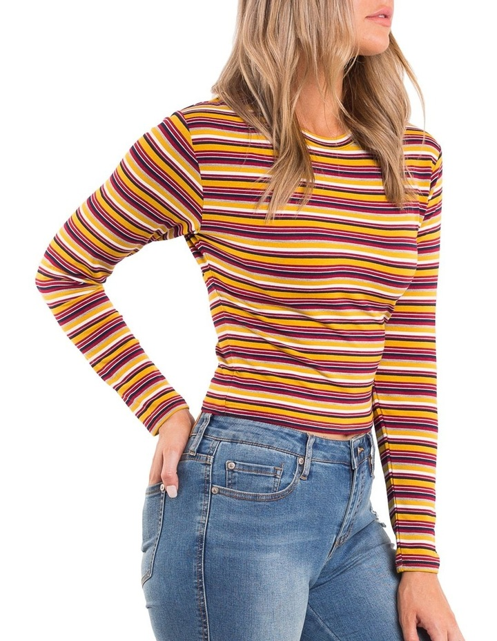 Brooklyn Long Sleeve Rib Top image 3