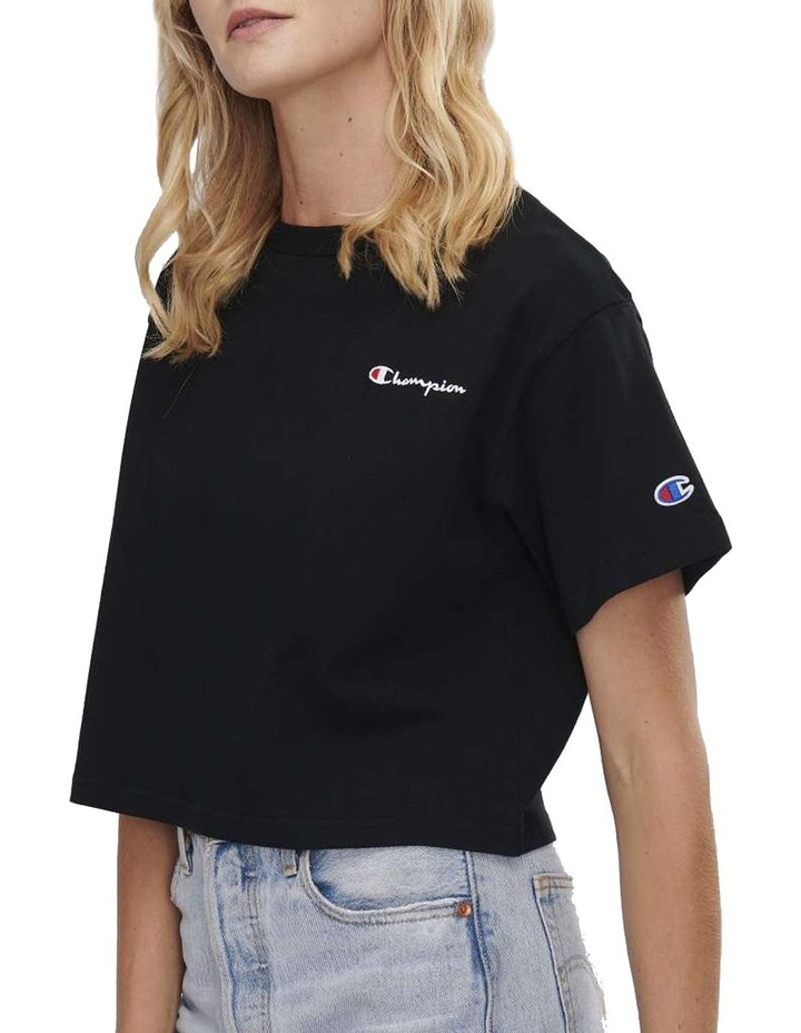 CHAMPION CVNCA CROPPED TEE T/SHIRT image 1