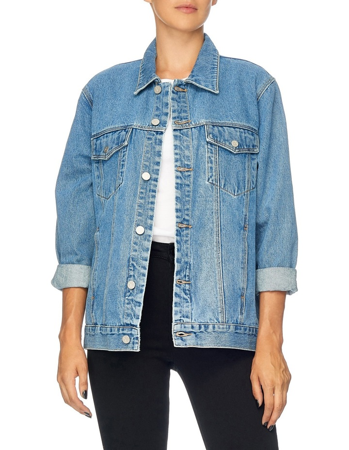 Drew Oversized Denim Jacket image 4