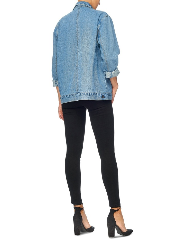 Drew Oversized Denim Jacket image 5