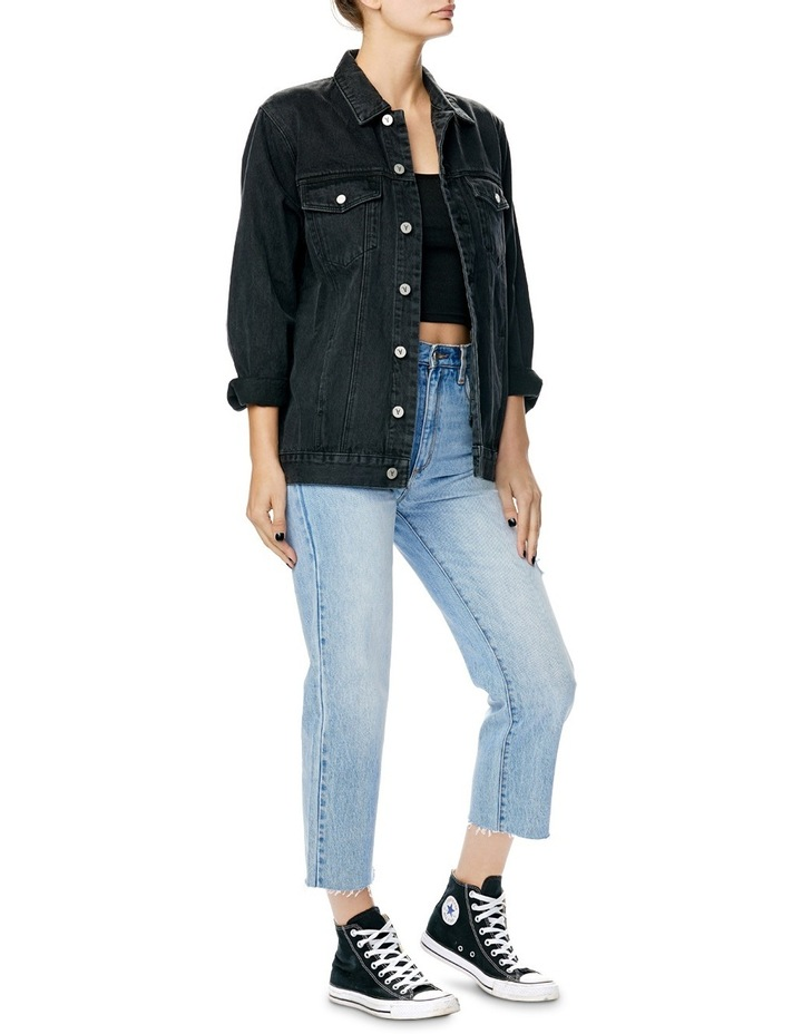 A Drew Oversized Denim Jacket image 3