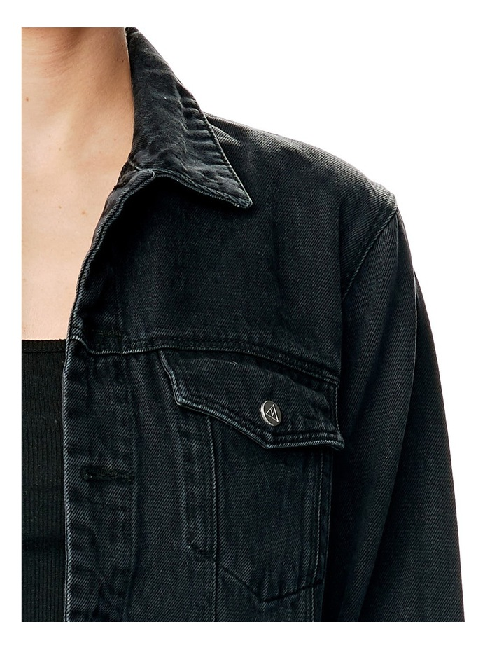 A Drew Oversized Denim Jacket image 4