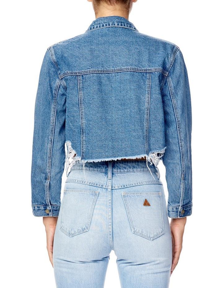 A Cropped Denim Jacket image 2
