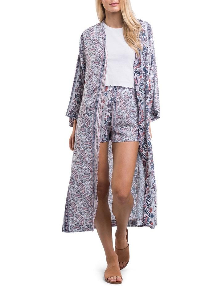 Paisley Longline Kimono image 1