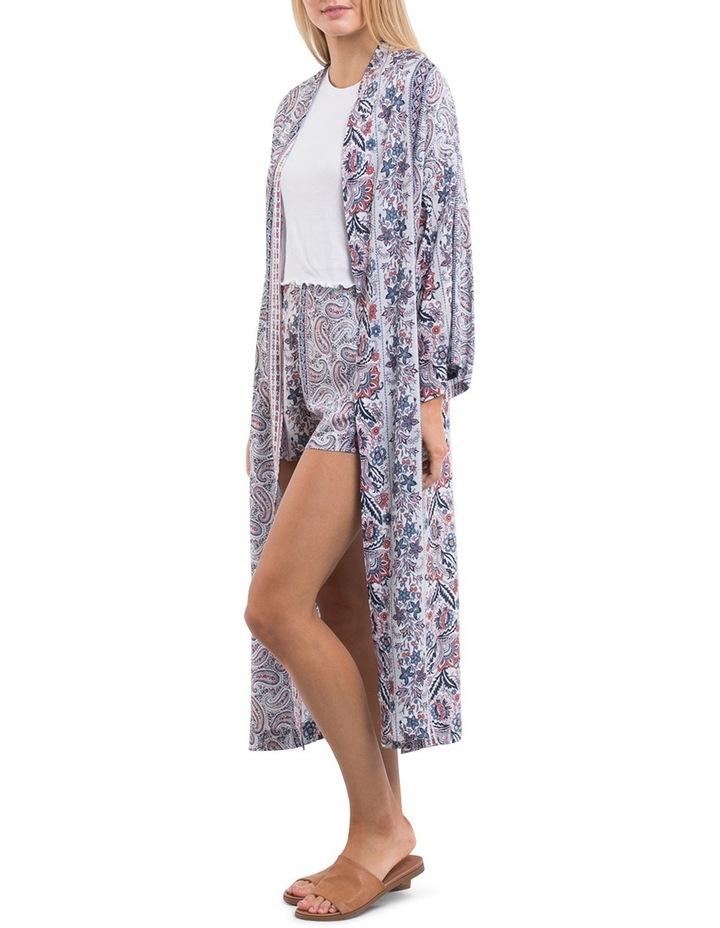 Paisley Longline Kimono image 2