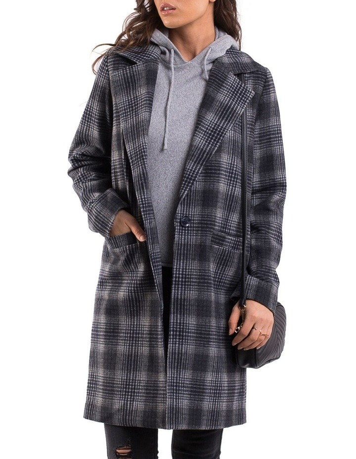 OFFBEAT PLAID COAT image 1