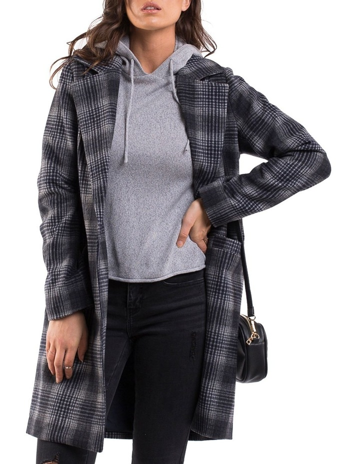 OFFBEAT PLAID COAT image 2