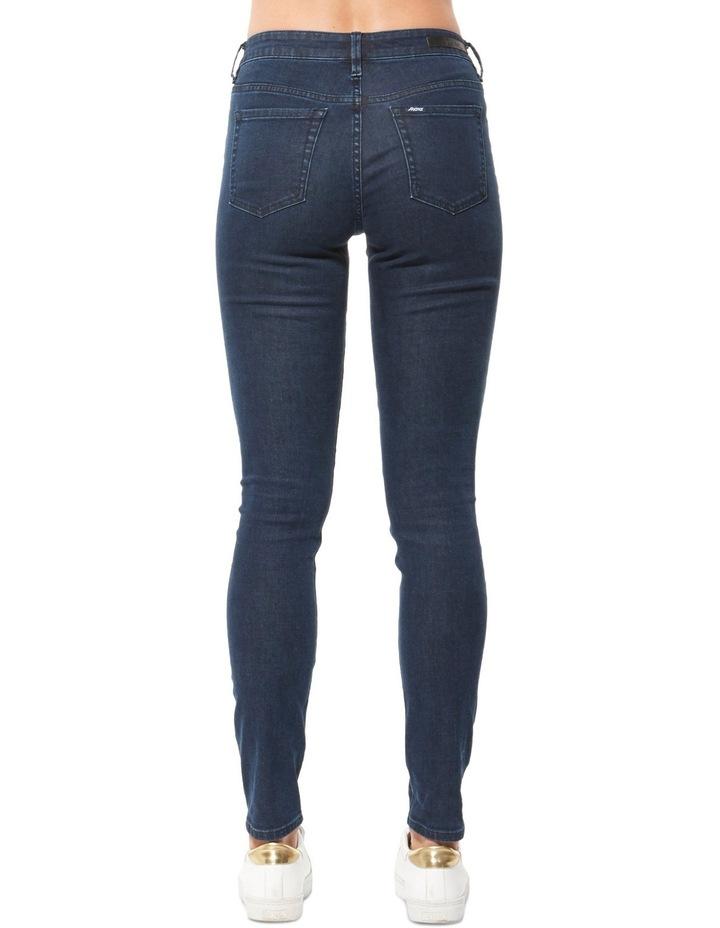 Mid Super Skinny Jean Boundary Blue image 2