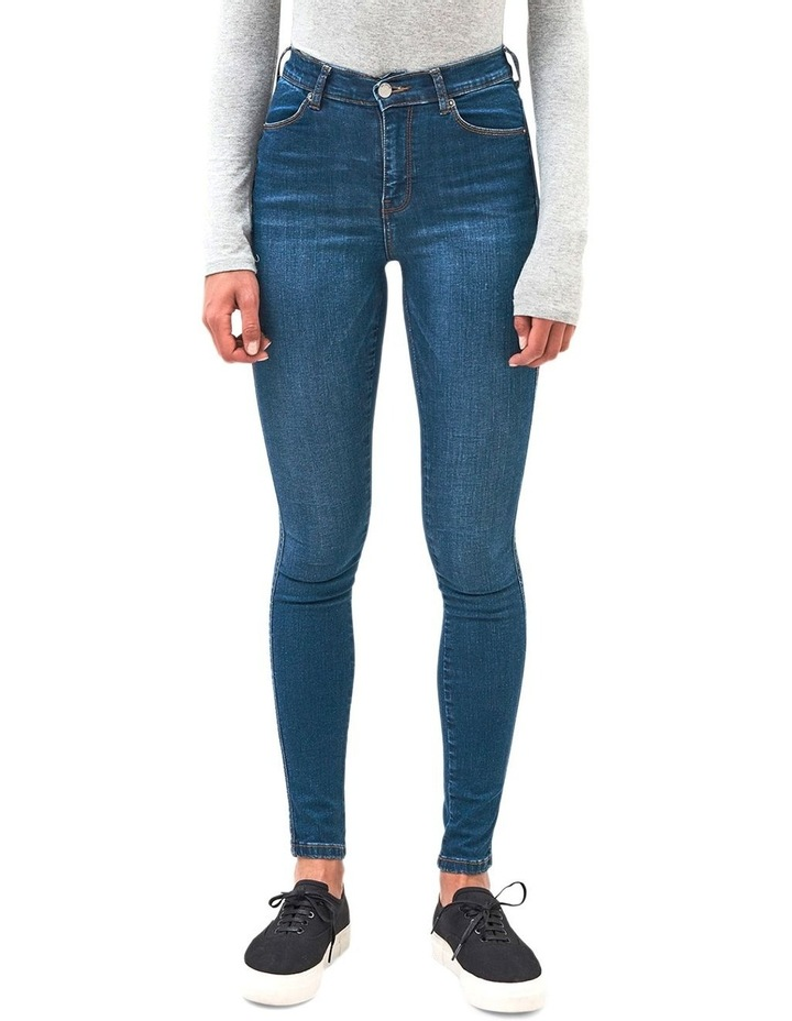 LEXY HIGH RISE SUPER STRETCH JEAN image 1