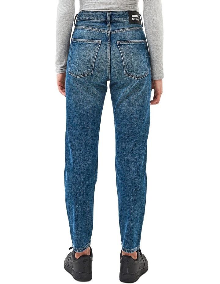 PEPPER HIGH RISE STRAIGHT LEG JEAN image 2