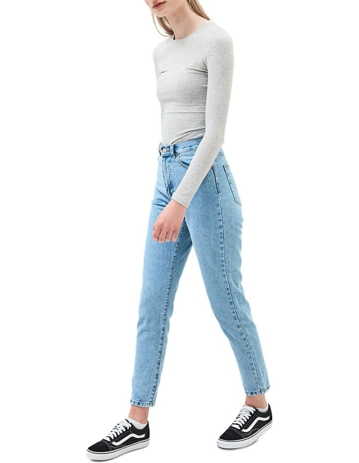 NORA SKY HIGH RISE RIGID MOM JEAN image 3