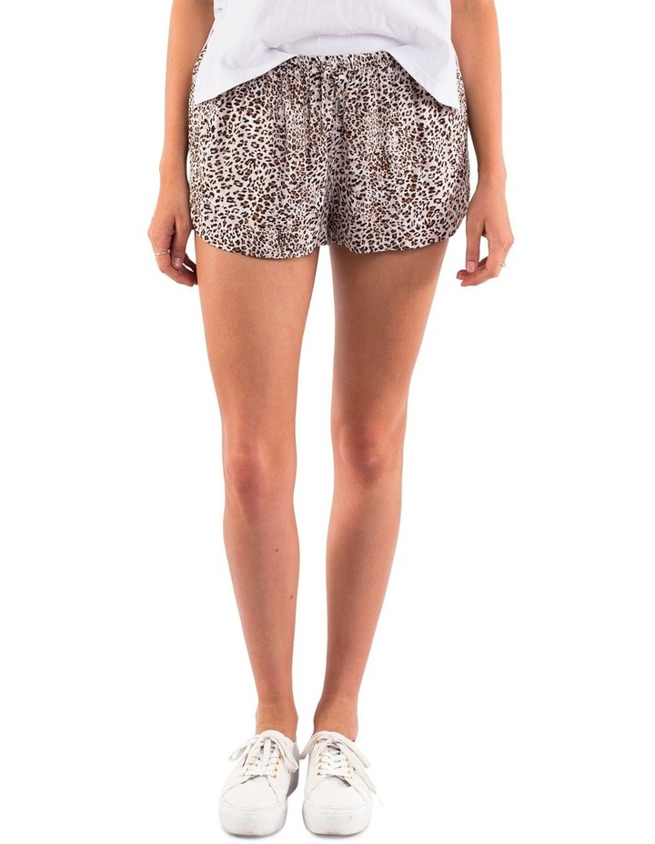 LEOPARD PULL ON SHORT image 1