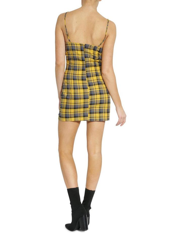 LUST CHECK DRESS image 3