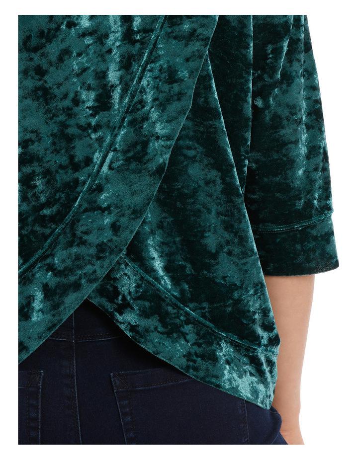 Velvet Hooded Sweater image 4