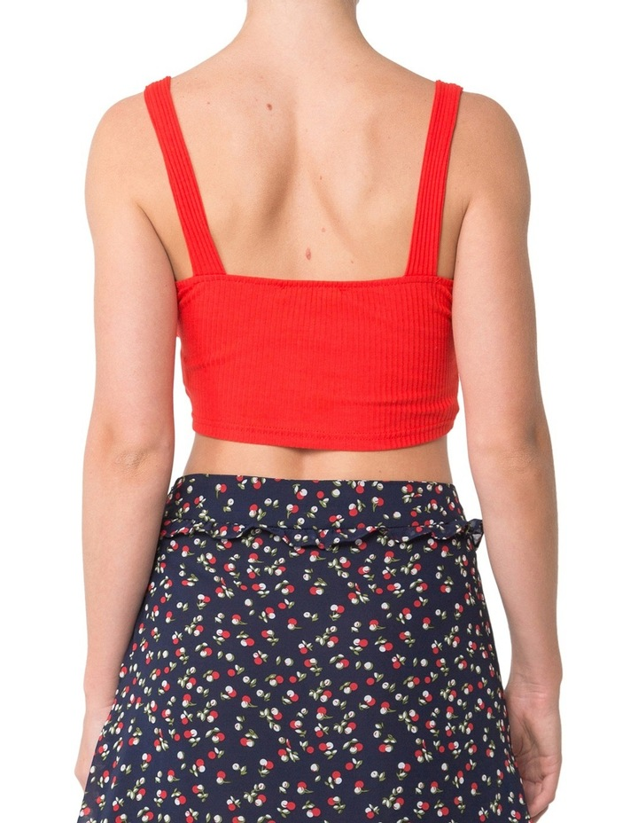 Lace Up Crop Tank image 2