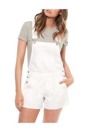 Riders By Lee - Utility Dungaree White Impact