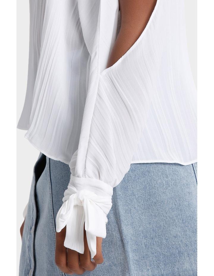 Pleat Tie Sleeve Top image 4
