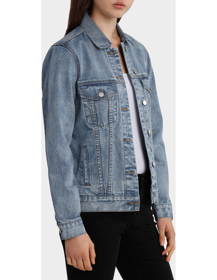 Oversized Denim Jacket image 2