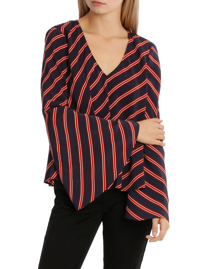 Asymetric Stripe Top image 1