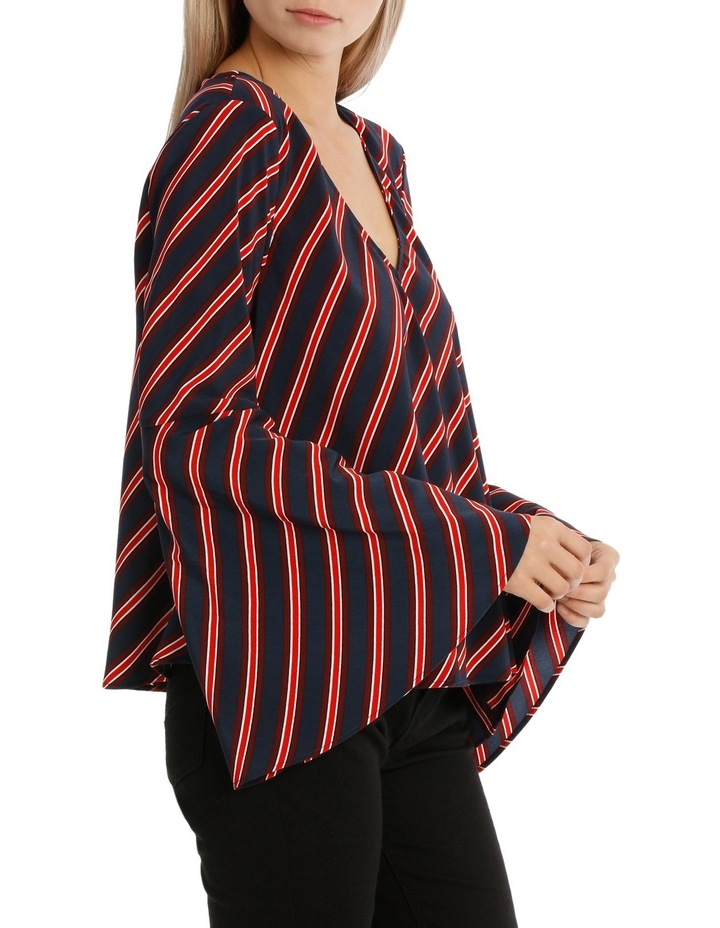 Asymetric Stripe Top image 2