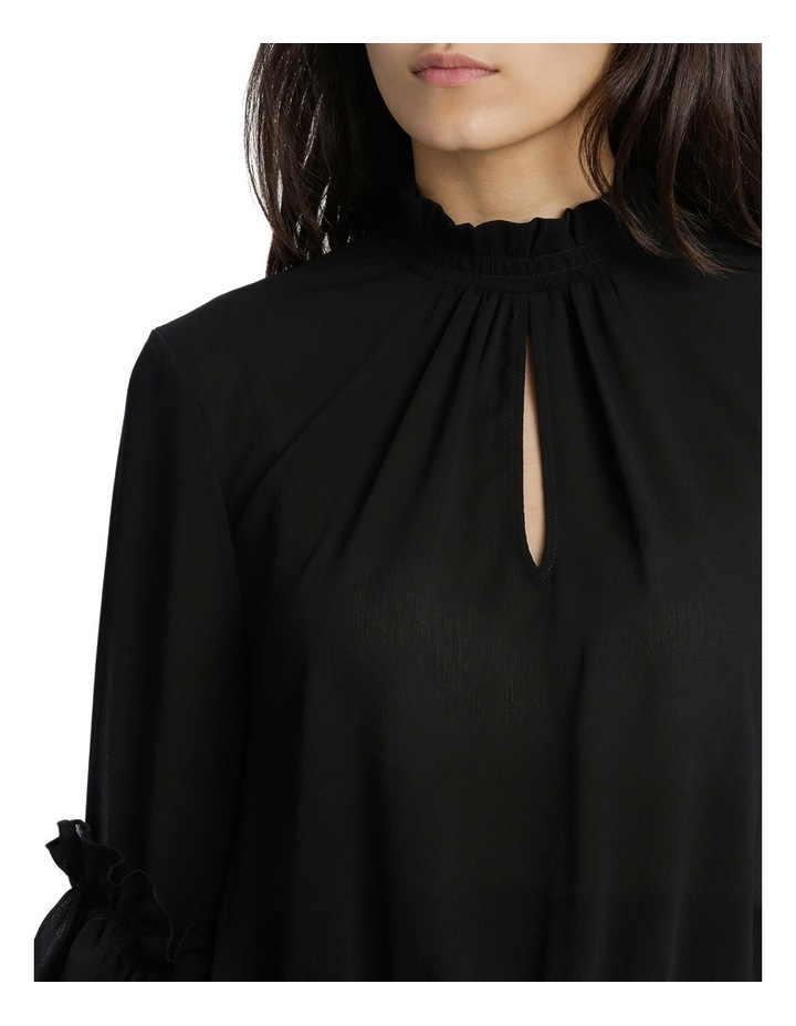 Penelope High Neck Shirred Top image 4